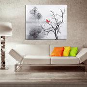 Moderno Pájaro Etiqueta de La Pared Impresión de la Lona Pintura Imagen Inicio Arte de la Pared Decoración Sin Marco