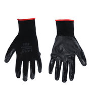 Nylon Butyronitrile Impregnated Rubber Wear Proof Industrial Protective Work Gloves
