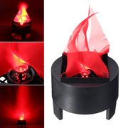 3W Prop LED Fake Flame Lamp Torch Light Fire Pot Home Decor AC85-260V