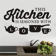 Miico 3D Creative PVC Wall Stickers Home Decor Mural Art Removable Special Kitchen Decor Sticker
