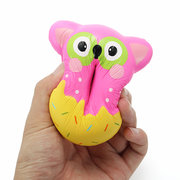 Squishy Factory Owl Donut 10cm Soft Slow Rising With Packaging Collection Gift Decor Toy