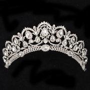 Bride Rhinestone Crystal Princess Queen Crown Tiara Head Jewelry Headpiece Wedding Party Headband