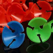 50 Stücke Weiß Colorful Kunststoff Ballon Halter Sticks Stangen W Cups Hochzeit Dekoration