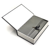 Metal Steel Cash Secure Hidden English Dictionary Money Box Coin Storage Books Secret Piggy Bank