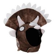 هالوين triceratops الديناصور حزب حلي وتتسابق بلدغ الصلصال الدافئة الصوف مضحك القط قبعة الحيوانات الأليفة قبعة