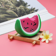 Mini Smile Watermelon Fruit Squishy Slow Rising Toy Soft Mini Cute Toy