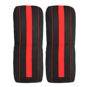 8Pcs Polyester Fabric Car Front and Back Seat Cover Cushion Protector for Five Seats Car