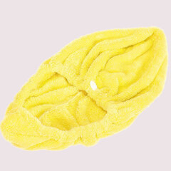 Coral Elastic Band Quick-drying Hair Drying Cap Salon Spa Bathroom Towel