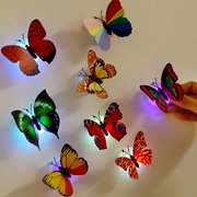 Honana DX-68 Butterfly LED Night Light Lamp With Suction Christmas Wedding Decor