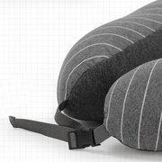 2 в 1 U форма Шея подушка хлопка подголовник подушка глаз Маска самолет путешествия сна отдых