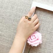 JASSY® 18K Gold überzog Luxus Open Ring Exquisite Kristall Anallergic verstellbaren Ring für Frauen Geschenk