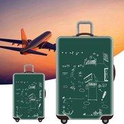 Elastic Gepäck Abdeckung Travel Koffer Protector Staubdichter Schutzkoffer