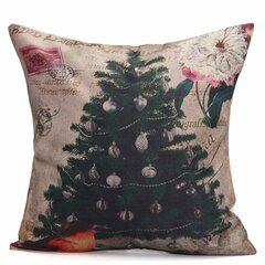 Albero di Natale Nomi di neve Regalo Modo Cotone Lino Cuscino Cassa Decorazione Babbo Natale