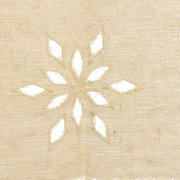 150X45 CM Country Style French Cotton Linen Embroidery Cafe Curtain Home Kitchen Curtain