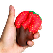 Lovely Strawberry Squishy Soft Slow Rising With Packaging Collection Gift Decor