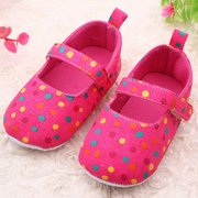 Infant Colorful Dot Indoor First Walking Baby Shoes