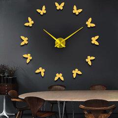 Orologio da parete grande 3D fai da te con orologio da parete