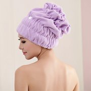 Women Magic Fast Hair Drying Towel Head Wrap Absorbent Makeup Cosmetics Cap Bath Tool
