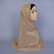 Big Large Maxi Long Wide Plain Viscose Scarf Muslim Headscarf