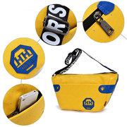 Colorful Sacs à bandoulière à pois en lettres avec lettres, collégiens, sacs à dos, sacs à dos