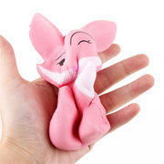 Long-Tailed Fox Squishy Soft Slow Rising With Packaging Collection Gift Toy