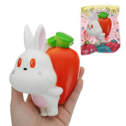 Kawaii Radish Rabbit Squishy Toy Slow Rising With Packaging Collection Gift