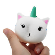 Unicorn Cat Squishy Slow Rising Collection Gift Decor Soft Toy