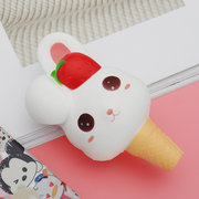 Kawaii Rabbit Ice Cream Squishy Slow Rising With Packaging Collection Gift