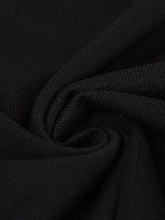 Casual Women Sequins Stitching Short Sleeve V-Neck Mini Dress