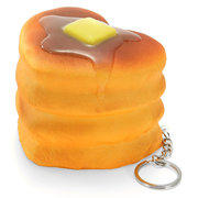 Squishy Love Cake 8cm Soft Collection Gift Decor Phone Bag Strap Keychain Toy