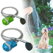 Portable USB Shower Water Pump Rechargeable Nozzle Handheld Pet Washing Bath Tools