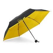 Honana HN-KU3 kompakte Mini-Reise-Regenschirm leichte kleine wasserdichte Tasche UV Regen Regenschirme
