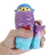 Squishy Cute Galaxy Alpaca Slow Rising Jouets animaux amusants