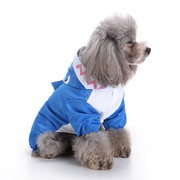 Dog Raincoat Rainsuit Waterproof Dog Puppy Jacket Coat Pet Rainwear Clothes for Small Dog