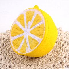SanQi Elan Squishy Jumbo Lemon 11cm Slow Rising Original Packaging Fruit Collection Décor Jouet cadeau