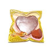 Kiibru Squishy Jumbo Schokolade Herz Kuchen 12cm Langsam steigende Original Verpackung Sammlung Geschenk Dekor