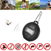 Portable Solar/USB Ultrasonic Pest Repeller Compass For Travel Pests Control