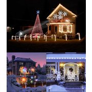ARILUX® 16 Patterns 8W Remote Christmas Stage Light Projector Waterproof Spotlight Festival Party