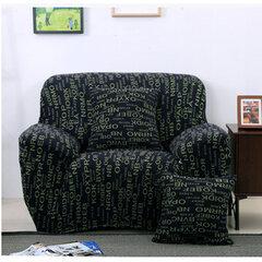 Spandex tessuto a tre posti in tessuto Flessibile stampato Soffitto elastico protettivo Mobili copertura del divano