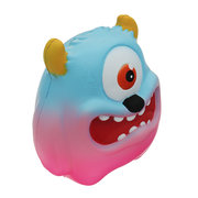 One-eyed Monster Squishy bajo Rising Cartoon Gift Collection Juguete suave