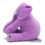Baby Kids Soft Plush Elephant Sleep Pillow Kids Lumbar Cushion Toys
