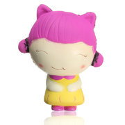NO NO Squishy Girl Doll 11cm Soft Slow Rising With Packaging Collection Gift Decor Toy