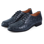 Large Size Men Leather Lace Up Pointed Toe Business Formal Oxfords Shoes