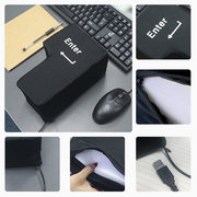 Slow Rebound Funny Big Enter Key Button USB Nap Pillow Stress Release Relief Enter Key Unbreakable