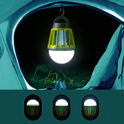Giardino Outdoor USB Charging LED Mosquito Lampada Uccidere IPX6 Impermeabile Climbers Night Lignt