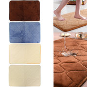 40x60cm Absorbent Soft Memory Foam Mat Bath Rug Antislip Carpet