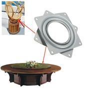 Full Ball Bearing Swivel Plate Metal Lazy Susan Turntable 4
