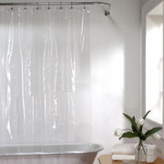 Mildew Resistant Anti-Bacterial Eco-Friendly PEVA 3G Liner Clear Shower Car Curtain
