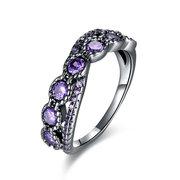 INALIS Women's Charm Finger Ring Цветной цирконий Infinity Knot Ring Gift для женщин