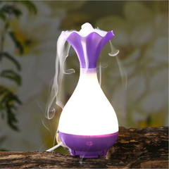 LED Essential Oil Diffuser Ultrasonic Air Humidifier Aromatherapy Purifier Night Light